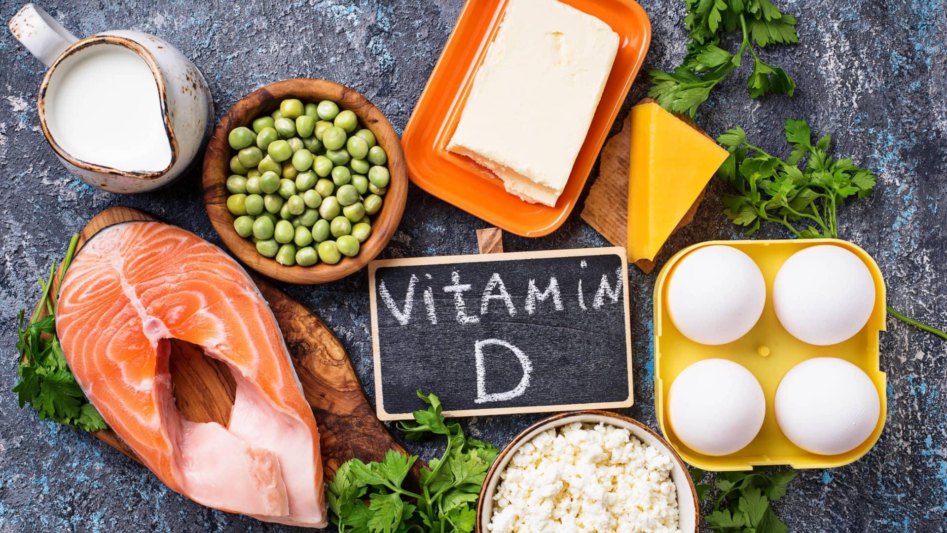 خوراکیهای حاوی ویتامین دی
