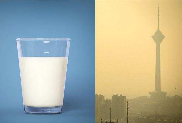 مصرف لبنیات در آلودگی هوا | چطور سلامت خود را در مواقع آلودگی حفظ کنیم؟
